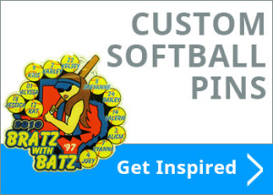 Custom Softball Pins